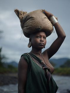 Kibbish River, Suri Tribe Territory, Lower Omo Valley, Ethiopia. Joey Lawrence: