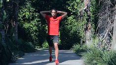 One Legged Lunge Squat, 3 sets of 20 reps, Brad Plotkin