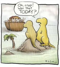 The real reason for extinction!