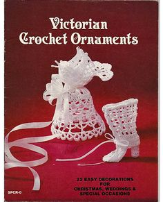 Victorian Crochet Ornaments  designed by by grammysyarngarden, $8.00