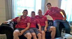 Swiss Football Team ⚽ ❤ Blerim Dzmaili, Xherdan Shaqiri,  Pajtim Kasami and Admir Mehmedi