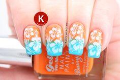 Tropical Nail Art for Adorable Summer Nails   16 Gorgeous Nail Designs Ideas