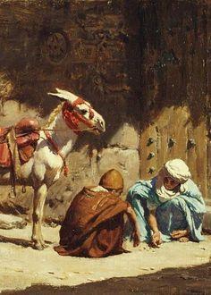 frederick arthur bridgman paintings - Google Search