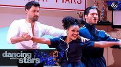 "Trio Samba: Laurie, Val, and Maks - Dancing with the Stars - Laurie Hernandez, Val Chmerkovskiy and Maks Chmerkovskiy Samba to ""Magalenha"" by Sergio Mendes on the Dancing with the Stars' Season 23 Semi-Finals! 2016.11"