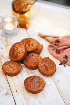 Gezonde speculaas muffins die perfect passen bij de wintermaanden. Bekijk het muffin recept nu op www.healthywanderlust.nl Healthy Dessert Recipes, Healthy Baking, Healthy Drinks, Healthy Snacks, Cake Recipes, Snack Recipes, Cooking Recipes, Low Calorie Snacks, Kids Meals