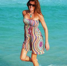 beach clothes, pretty pattern