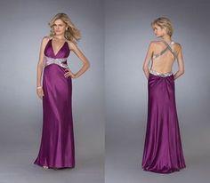 prom dresses purple