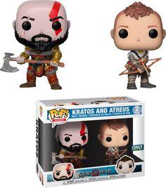 Funko - Pop! Video Game God of War: Kratos, Multi