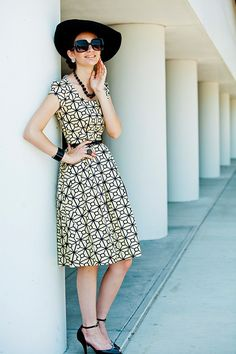 Love the dress, and the shoes are also excellent!