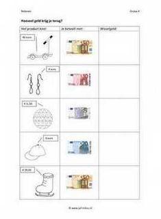 Cito - rekenen - geld - Wisselgeld 02