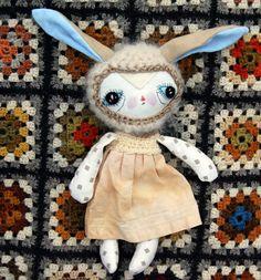 OOAK doll handmade doll ragdoll clothdoll by ShylingsAndGhosts