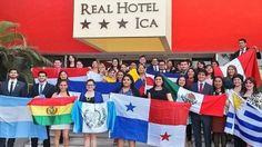 Jóvenes participantes de la Asamblea de Jóvenes Iberoamericanos. Gentileza Facundo Feres