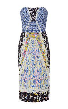 KS Printed Crepe-Jersey Dress by Peter Pilotto - Moda Operandi
