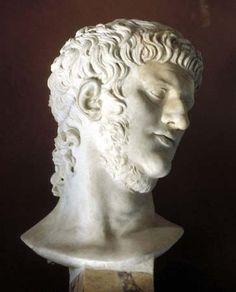 Bust of Roman emperor Nero.