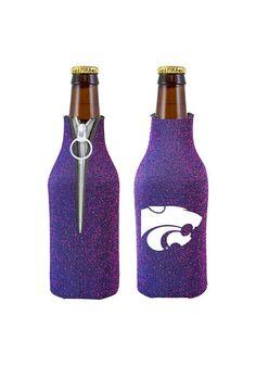 Kansas State Wildcats Purple Glitter Bottle Koozie http://www.rallyhouse.com/shop/kstate-wildcats-kansas-state-wildcats-purple-glitter-bottle-koozie-1565733 $9.99
