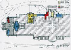 Drachenburg.  --  sub-basement.  -- inc. the burial vault.