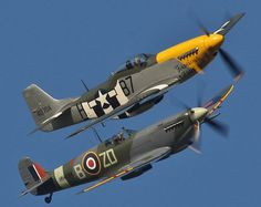"""Goodwood Revival: Spitfire and Mustang - """"Rather Rigorous as to Security..."""""""