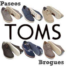 """TOMS Shoes Men's Paseos & Brogues"""
