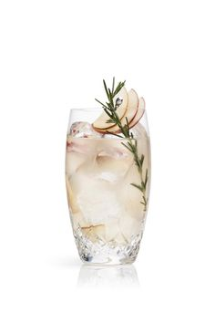 Cointreau Apple and Rosemary Rickey