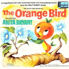 "Walt Disney Anita Bryant ""The Orange Bird"" LP Vinyl Vintage 1971 Story Book 3991 Disneyland Tokio, Disney Magic, Disney Art, Disney Stuff, Disney Enchanted, Disney Records, Florida Oranges, Orange Bird, Walt Disney Studios"
