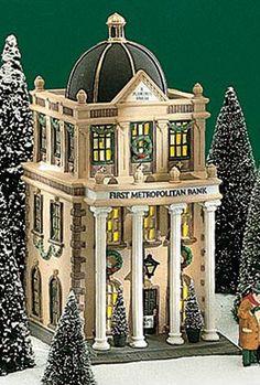 Dept 56 CIC ~ First Metropolitan Bank ~