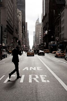 city, new york, and street afbeelding