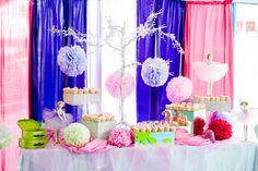 Ballerina dessert table #ballerina #desserttable