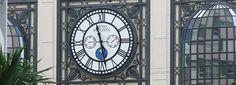 Exterior Clock Sao Paulo Brazil