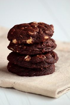 Rocky Road Cookies with Almonds and White Chocolate Chips by pastryaffair, via Flickr
