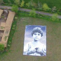 giant art installation targets predator drone operators #artcrush