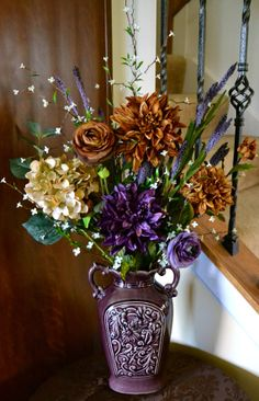 Cherish Me Bouquet Silk Floral Arrangement by ChicagoSilkFlorist, $75.00