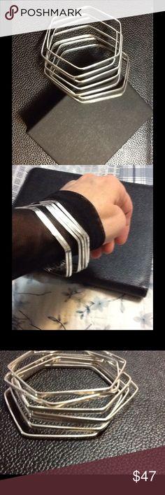 SEVEN STERLING SILVER BRACELETS-NWOT SEVEN STERLING SILVER BRACELETS-NWOT STERLING SILVER Jewelry Bracelets