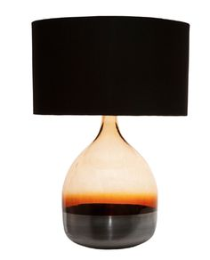 Volcanic red table lamp shade red table lamp table lamp shaynna blaze silveramber lamp with black shade allissias attic vintage french style aloadofball Image collections