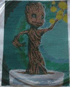 Groot cross stitch