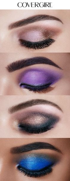 Create dazzling eye looks for the holiday season! From Brown Smoke and Soft Natural to Purple Glam and Blue Green Vamp, COVERGIRL'S TruNaked Jewels Palette has a spectrum of sparkling, gem-like shades perfect for any Christmas or Hanukkah party this winter. Complete this look with So Lashy! Mascara and Intensify Me! Liner.