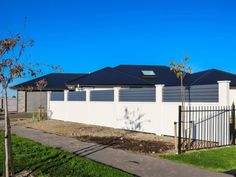 Elitewall Louvre Fences are one of a range of high-quality fencing, gate and bollard products available from Boundaryline, New Zealand's fencing specialists. Gate Ideas, Fencing, New Zealand, Garage Doors, Louvre, Range, Metal, Outdoor Decor, Modern
