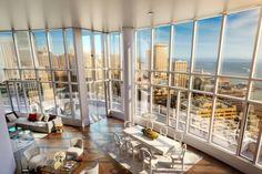 Inside San Francisco's $49 Million Lumina Penthouse -Video tour of home-