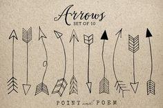 Hand Drawn Arrow Cli