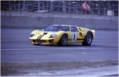 The #1 Shelby American Ford GT40 Mk II,1967 24 Hours of Daytona