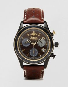 Vivienne Westwood Sotherby leather watch