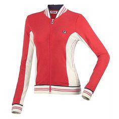 Vintage Acrylic Wool Jacket - Women's Jackets And Vests | Fila