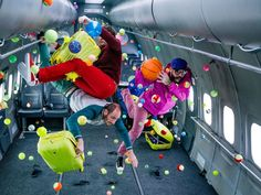 Ok Go filmed the zero-gravity music video for their new single, Upside Down, Inside Out, at Russias Yuri Gagarin Cosmonaut Training Center.