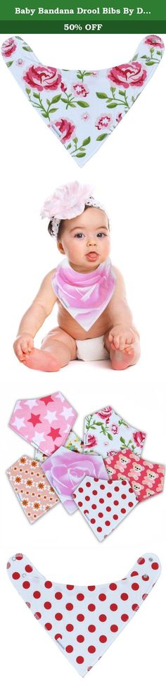Baby Bandana Drool Bibs By Daulia, Girls 7-Pack Absorbent Organic Cotton, Cute Baby Gift for Girls. Too Cool for Drool! Our Baby Bandana Bibs Boast the Cutest Designs Picture your adorable baby in these adorable bibs, with their fun, creative graphics. You'll have the cutest little drooler at daycare! Our 7-bib pack gives you a week's supply, with trendy designer prints for scene-stealing style. Super-Absorbent and Soothingly Soft for Chafe-Free Comfort These premium-quality bibs feature...