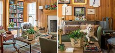 love the pine paneling......From the Pages Of... | One Kings Lane