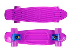 "Zycle Fix Mayhem 22"" Penny Style Skateboard (Pink/Purple)"
