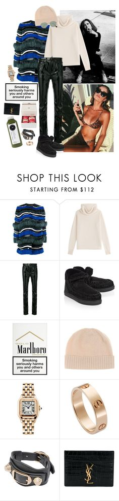 """""""All my sets look the same…"""" by astrid-sophia ❤ liked on Polyvore featuring Fendi, Sonia Rykiel, Yves Saint Laurent, Mou, Jardin des Orangers, Cartier, Balenciaga, Ladurée and Ray-Ban"""