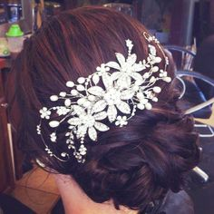 This website has tons of wedding Hairdos and Make-up ideas