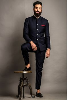 Shop the Look Buy Jackets, Trousers, Shirts & Shorts Online Wedding Dresses Men Indian, Wedding Dress Men, Wedding Men, Men Wedding Fashion, Suit For Wedding, Trendy Wedding, Wedding Styles, Wedding Ideas, Indian Men Fashion