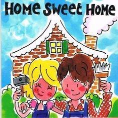 Home Sweet Home - by Blond Amsterdam Blond Amsterdam, Amsterdam Netherlands, Kat Van D, Amsterdam Images, Tarjetas Diy, Art Academy, Cute Images, Happy Moments, Christmas Wishes