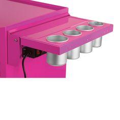 The Original Pink Box Power Shelf for Salon Cart
